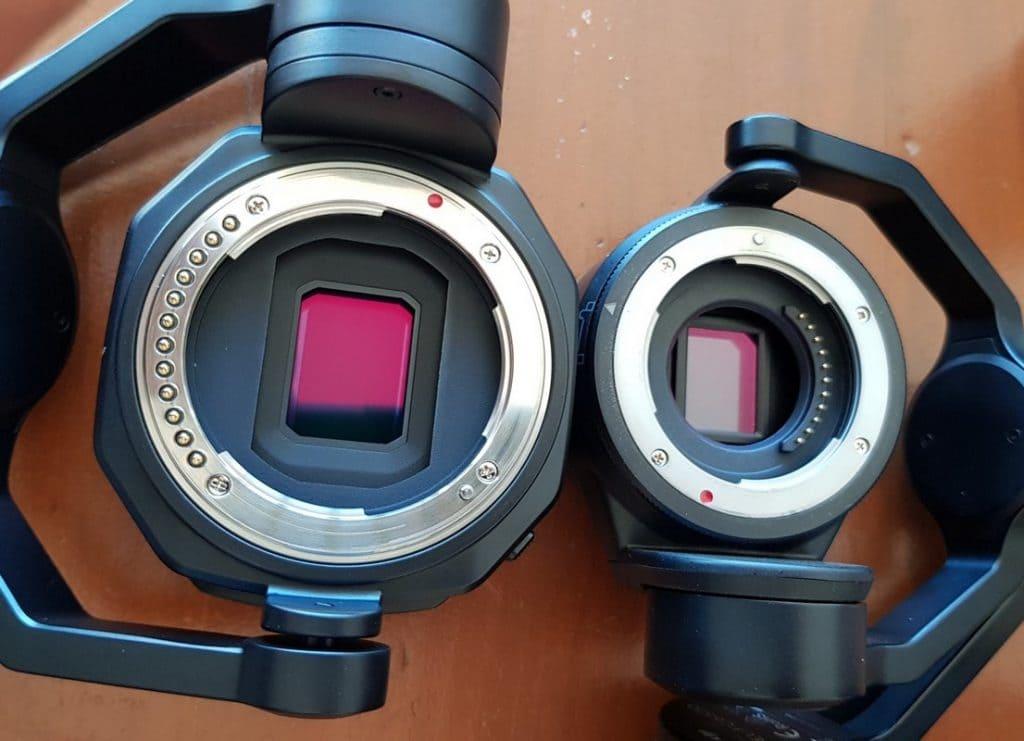 x7 vs x5s sensor